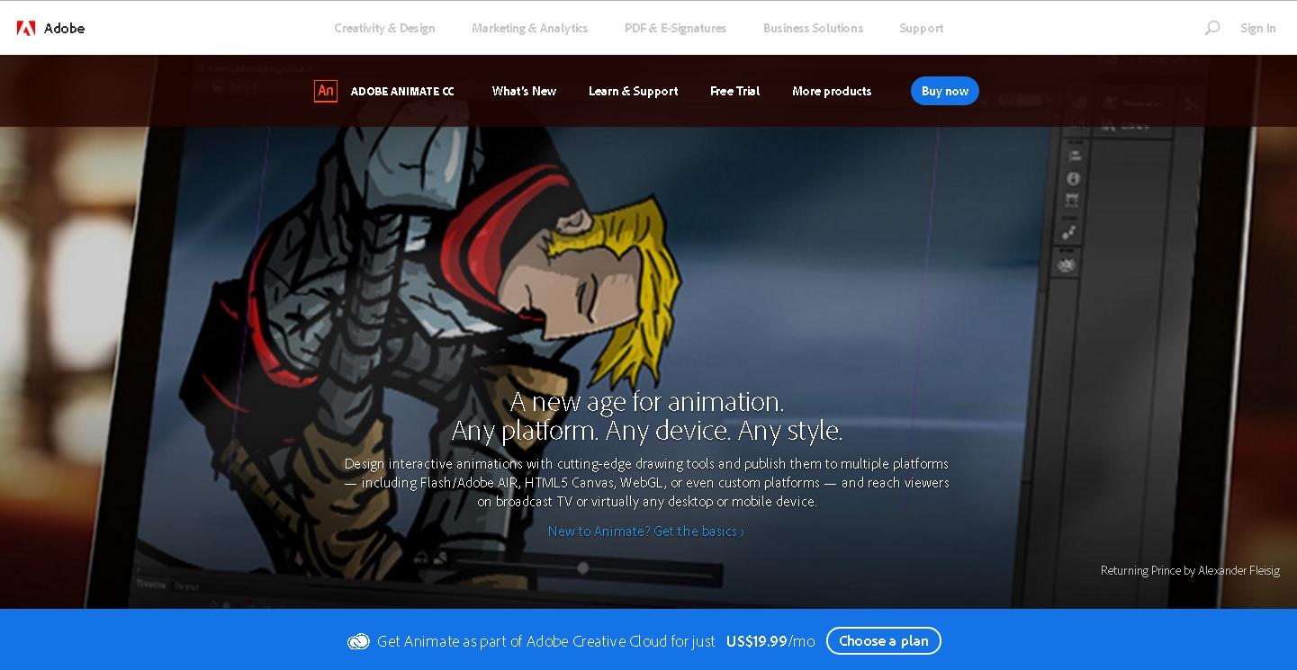 Adobe Animieren