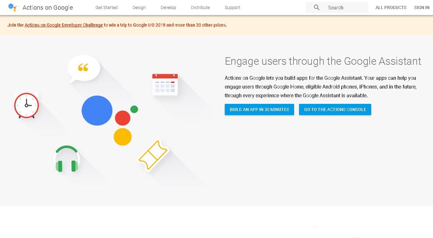 Aktionen bei Google