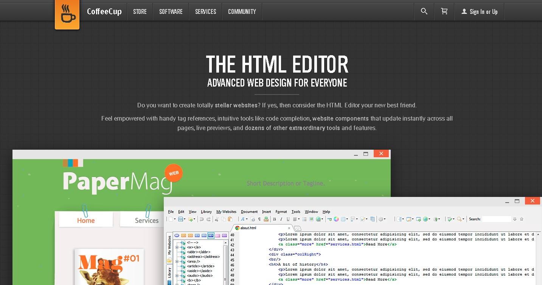 CoffeeCup HTML-Editor