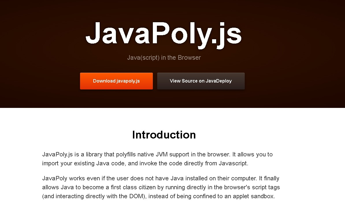 JavaPoly