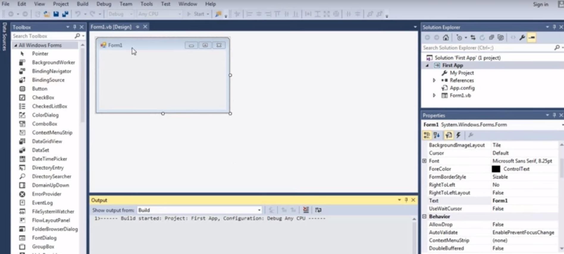 Microsoft Visual Studio Express